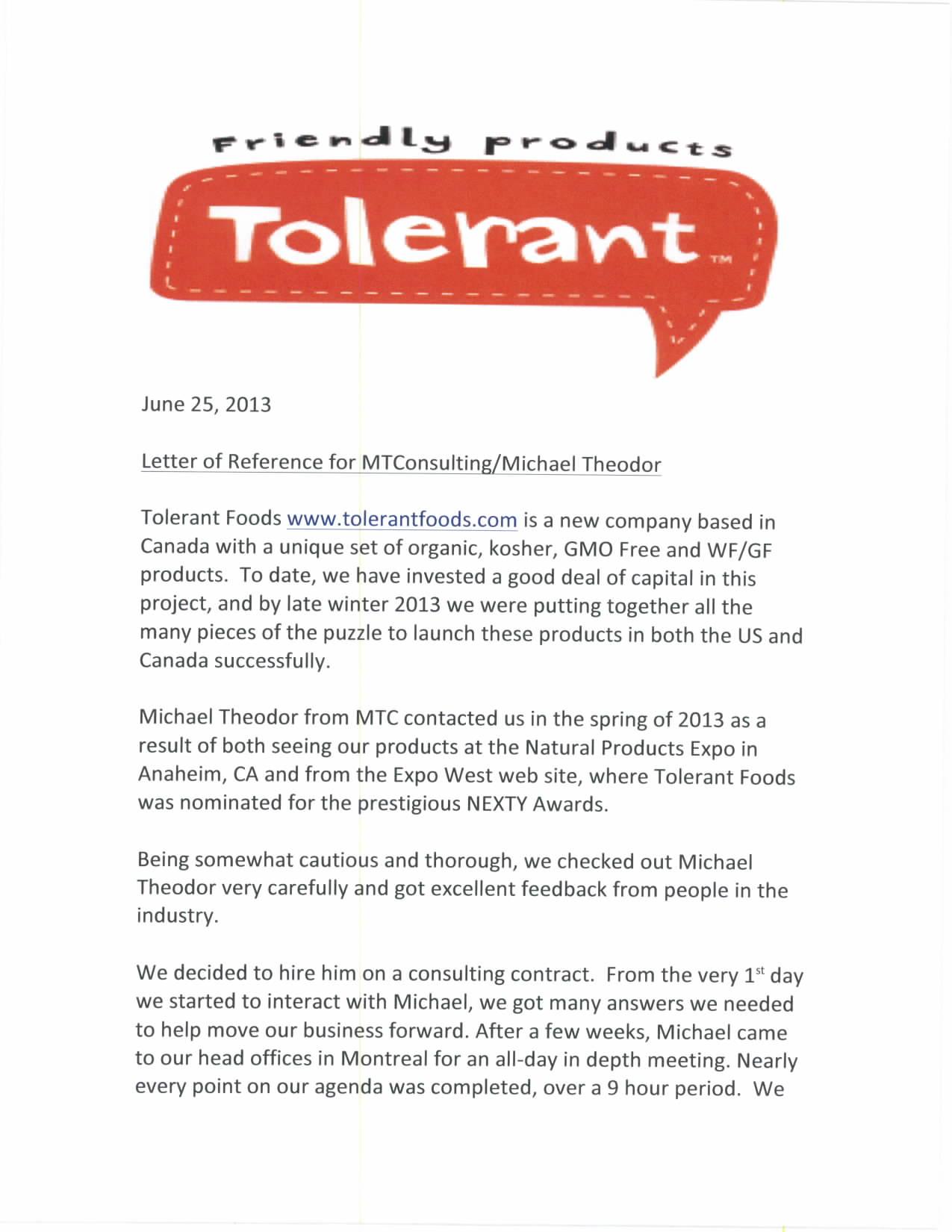tolerant1pro
